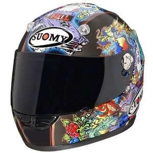 SUOMY VANDAL TATTOO FLAME MOTORCYCLE HELMET 2XL Automotive