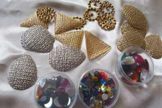 craft acrylic rhinestone crystal faux pearl beads angel ornament kits