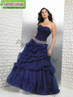 Quinceanera Dress Debutante Wedding Party Ball Gown Bridal Prom Drape