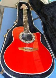 OVATION 1777 LEGEND ACOUSTIC ELECTRIC W HARD CASE MADE IN USA
