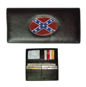 Rebel Flag (Confederate)   Womens Wallet Brand New