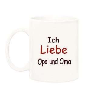Ich Liebe Oma und Opa German Saying Mug