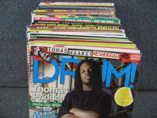 Lot of 40 Magazines Drum Modern Drummer Drums & Drumming Drumhead How
