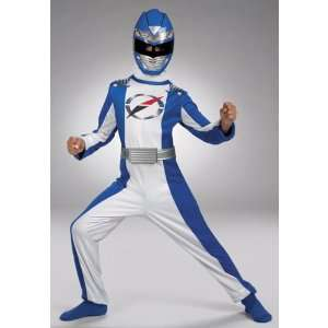 Power Rangers   Blue Power Rangers Quality Costume (Toddler 3T 4T)