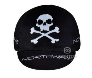 2012 Cycling Bicycle bike outdoor sport skull hat cap black