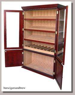 CIGAR HUMIDOR display cabinet NEW Large Big HUGE home or shop