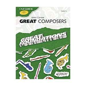 Great Composers Book With CD Bb Soprano Sax/Bb Tenor Sax
