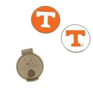 Tennessee UT Vols Volunteers Hat Clip W/ Golf Ball Markers/Chips
