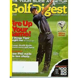 Golf Digest August 2006   Tiger Woods Golf Digest Books