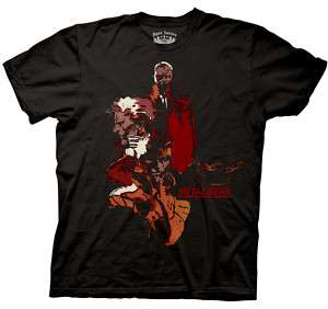 METAL GEAR SOLID FACES ADULT TEE SHIRT S M L XL 2XL