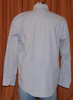 MICHAEL BRANDON BLACK GRAY COTTON SHIRT MENS XL 17 17.5