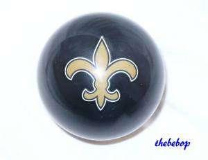 Black New Orleans SAINTS NFL Billiard Pool Cue Ball NEW