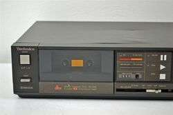 Technics Stereo Cassette Deck Tape Player Recorder