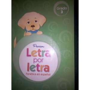 Letra por letra, Teachers Guide, Grado 3 (Fonetica en