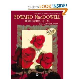Edition) (9780769261140): Edward MacDowell, Maurice Hinson: Books