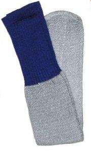 Pair of Mens Cotton Blue & Gray Winter Thermal Socks   Stay Warm