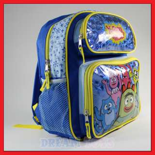 12 Yo Gabba Gabba Blue Toddler Backpack Bag   Brobee