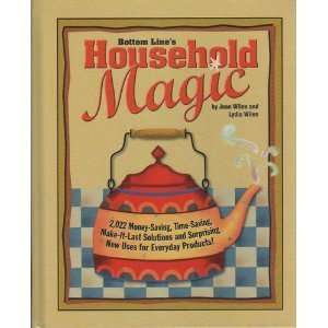 com Bottom Lines Household Magic (9780887233968) Joan Wilen Books