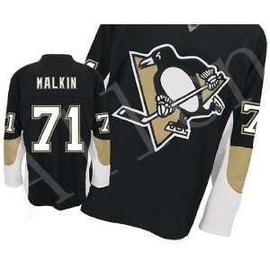 2012 New NHL Pittsburgh Penguins#71 Malkin White/blue
