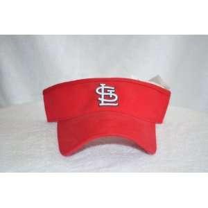 Cardinals Red Visor Hat   STL MLB Baseball Golf Cap