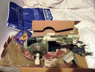 Star Wars BOBA FETT SLAVE I POTF ship Stormtrooper Han Solo Carbonite