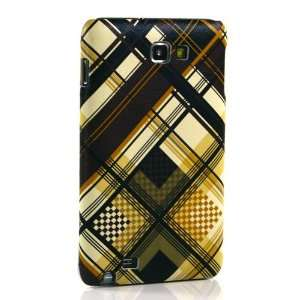 Brown Plaid Pattern Hard Case / Cover / Skin / Shell For