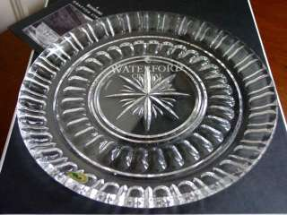 Waterford Crystal GRAFTON STREET BOLTON Cake Plate NEW