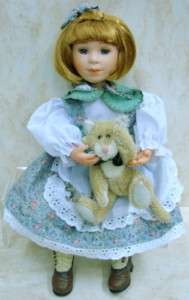 BOYDS BEARS Paula Peek Boo DOLL Yesterdays 4835