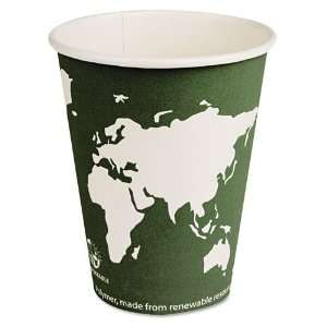 Hot Paper Cups with Compostable PLA Plastic 1000ct: Kitchen & Dining