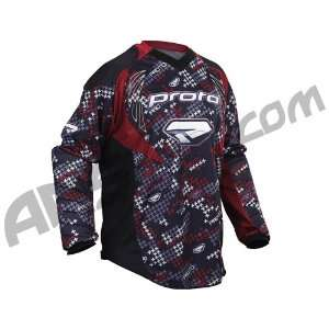 2010 Paintball Jersey   Brick Red Sabre   1   Small