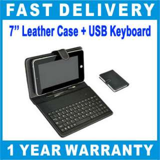 Leather Case Cover+ Stylus Pen For 7 Android Tablet PC MID ePad aPad