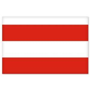 Brno City Flag car bumper sticker window decal 5 x 3