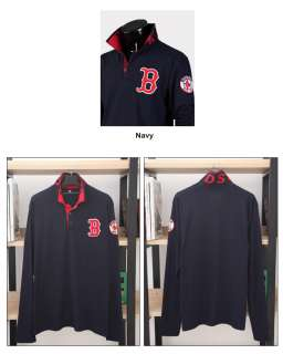Mens EXTRA LARGE Slim Fit Boston RED SOX Polo Collar T Shirts 2XL