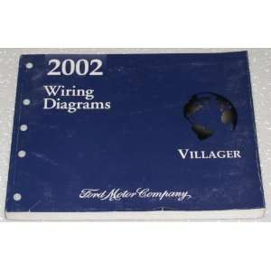 2002 Mercury Villager Wiring Diagrams: Ford Motor Company