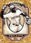 Brandon Phillips #6 Auto Autograph 36/50 Gold Rush 2012 Topps Baseball