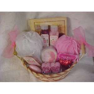 Valentines Day Luxurious Spa Basket