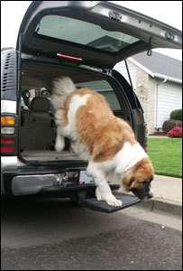 Otto Dog Pet Step Hitch Platform Stair Ramp Truck SUV