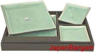 Japanese Porcelain Sushi Dinner Plate Gift Set BH75 LG