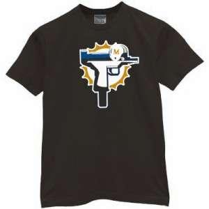 Dolphin Uzi T shirt funny miami jersey vintage bush reggie marshall