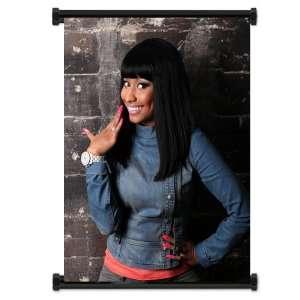 Nicki Minaj Rapper Fabric Wall Scroll Poster (16 X 21