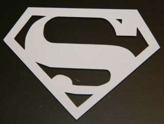 SUPERMAN LOGO CAR Vinyl Decal Choose Size/Color  WINDOW