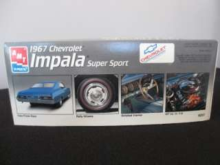 Chevrolet Impala Super Sport Plastic Model Car Kit 1/25 Scale