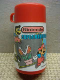 1988 Nintendo Super Mario Bros. Thermos for Lunch Box