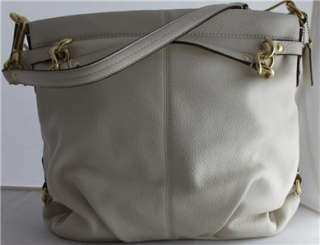 NWT Coach BROOKE WHITE LEATHER & BRASS Bag $358 17165 Shoulder