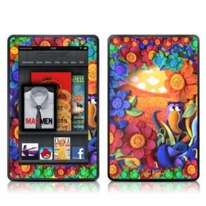 Summerbird Design Protective Decal Skin Sticker for  Kindle Fire