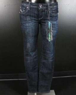 NWT Womens LA IDOL Skinny Jeans CRYSTAL BUCKLES 775NR