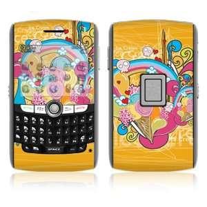 BlackBerry World 8800/8820/8830 Vinyl Decal Skin   I Love