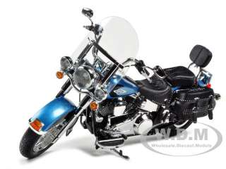 2011 HARLEY DAVIDSON FLSTC HERITAGE SOFTAIL CLASSIC BLUE 1/12 HIGHWAY