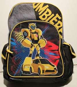 BUMBLEBEE TRANSFORMERS BACKPACK Boys School Book Bag