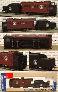 HO train WALTHERS Alco Steam Rotary Snow Plow GREAT NORTHERN GN *mint